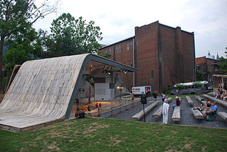 Clifton Forge, Virginia - Masonic Amphitheater in Clifton Forge