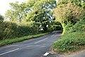 Climbing uphill away from Little Rissington - geograph.org.uk - 1526039.jpg