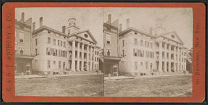 Clinton House (Ithaca, New York) - 19th-Aggelomatis stereogram of Clinton House