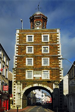 Youghal's Clock Gate is a symbol of the town