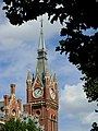Clock Tower, St Pancras Station - geograph.org.uk - 233392.jpg
