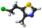 Clomethiazole ball-and-stick model.png
