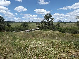 Closed road bridge over Teviot Brook at Kagaru, Queensland.jpg