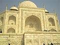 Closer view of Taj Mahal, Agra.jpg