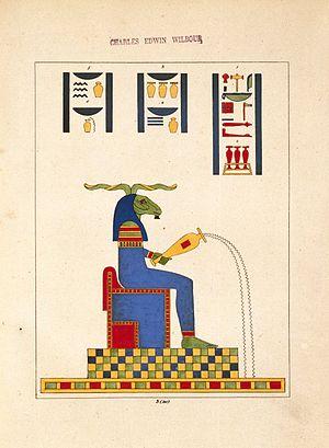 Khnum - Cnouphis-Nilus (Jupiter-Nilus, Dieu Nil), N372.2, Brooklyn Museum