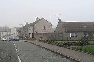 Coalsnaughton Village in Clackmannanshire, Scotland