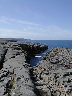 Küste des Burren, co. Clare, Ireland