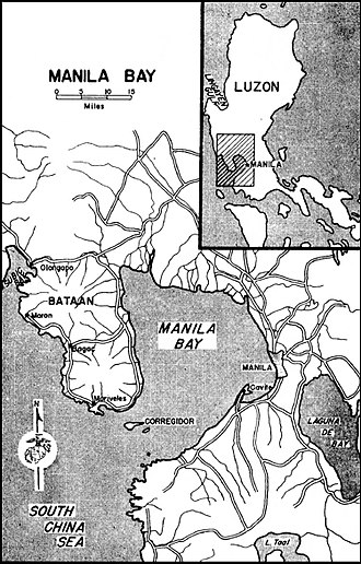Fort Mills - The Harbor of Manila and Surrounding Areas