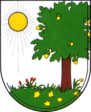 Johannisthal (Berlin) - Image: Coat of arms de be johannisthal 1987