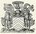 Coat of arms of Count François de La Rochefoucauld - Thevet André - 1556.jpg