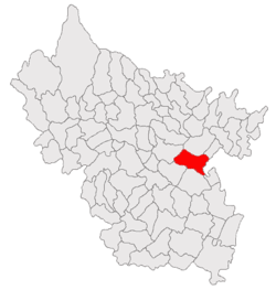 Location of Cochirleanca