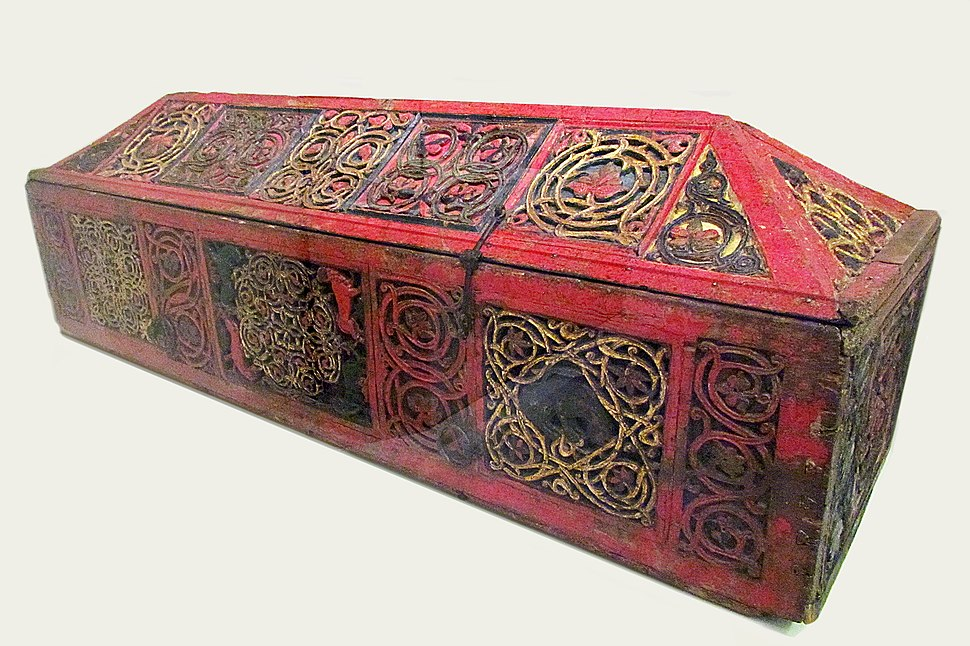 Coffin-reliquary with remains of St. King Stefan Decanski