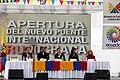 Colombia, Apertura del nuevo puente internacional de Rumichaca. (11058585446).jpg