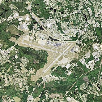 Columbia Metropolitan Airport - Image: Columbia Metropolitan Airport South Carolina
