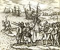 Columbus landing on Hispaniola.JPG