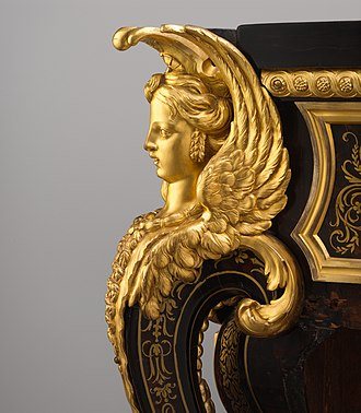 André Charles Boulle - Commode by André-Charles Boulle - Detail