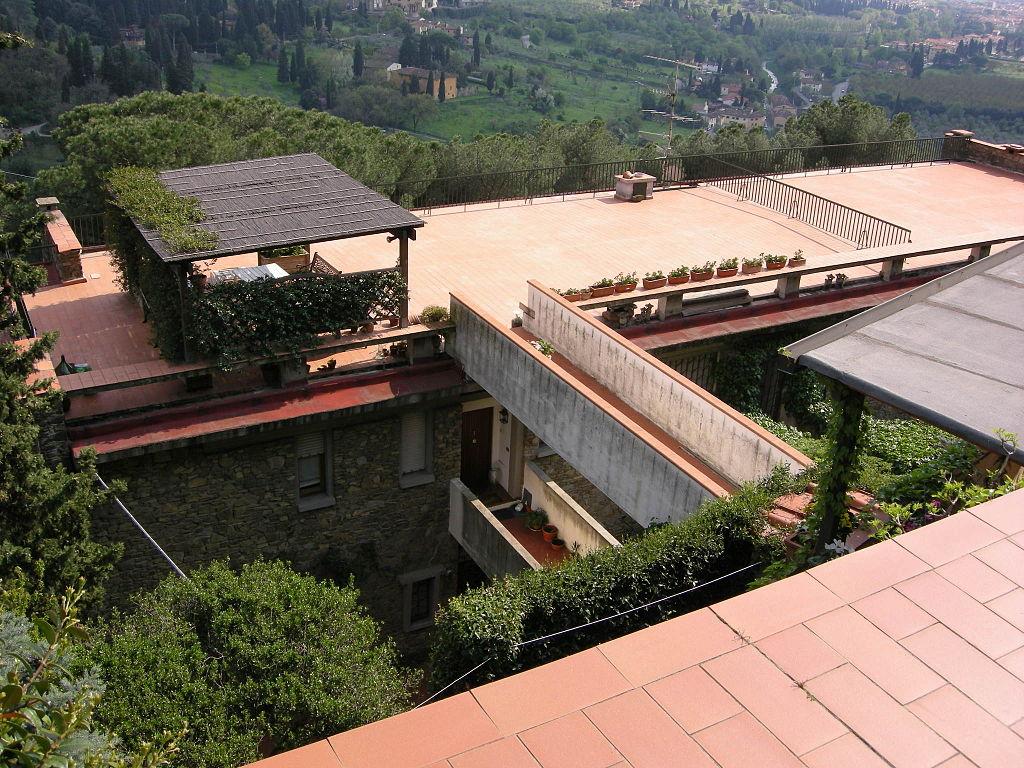 Complesso di Monterinaldi, terrazza