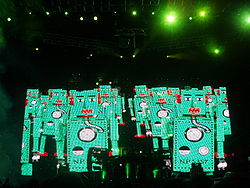 Chemical Brothers koncert 2007-ből