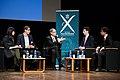 Conférence de Jean Tirole X 1973, à l' Ecole polytechnique, prix nobel d'économie en 2014 (21187101564).jpg