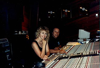 Roger Nichols (recording engineer) - Nichols and Connie Reeder (his wife) in 1988