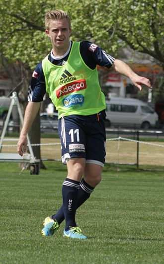 Connor Pain - Pain training for Melbourne Victory in 2013