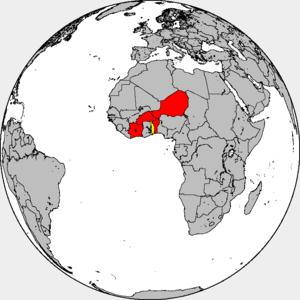 Conseil de l'Entente - Countries in the Conseil de l'Entente