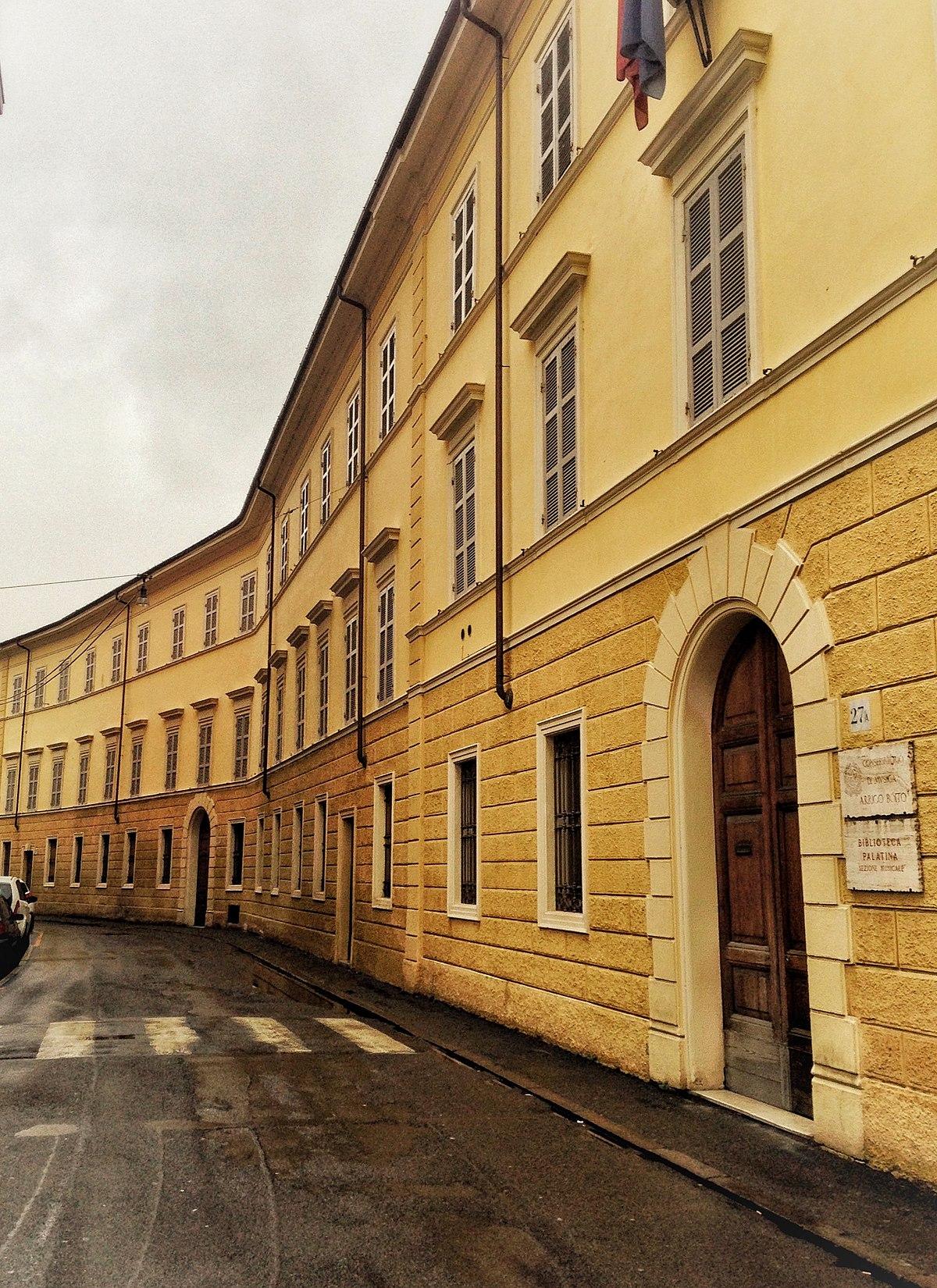 Conservatorio Arrigo Boito Wikipedia