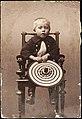 Constantin Grünberg (s. 1891) istumassa. (hkm.HKMS000005-km0000mb8d).jpg