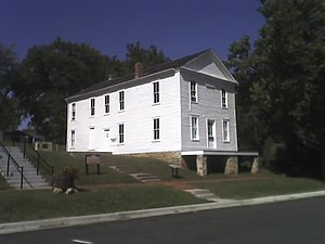 Lecompton Constitution - Image: Constitution Hall Lecompton