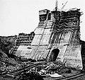 Construction du barrage Chute-a-Caron, en aout 1929.jpg