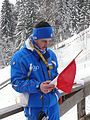 Continental Cup 2010 Villach - Skijumping Coach Italy 12.JPG