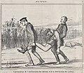 Continuation de l'amélioration des chevauz et de la détérioration des jockeys., from Aux Courses, published in Le Charivari, April 13, 1859 MET DP876827.jpg