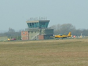 Leeds East Airport - Image: Control Tower RAF Church Fenton geograph.org.uk 72700