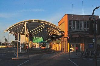 Bus Éireann - Parnell Place bus station in Cork