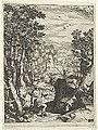 Cornelis Cort, da Girolamo Muziano, Sant'Eustachio.jpg