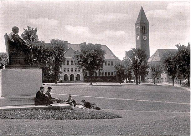 Cornell Arts Quad 1919