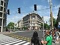 Corner building. - Andrássy Avenue 2, 2011 Budapešť 0999.jpg