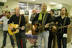 Costner and Modern West, 2010.jpg