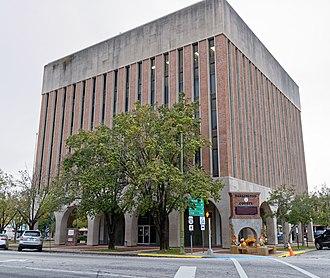 Darlington County, South Carolina - Image: Courthouse Darlington County, SC, US