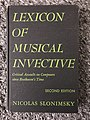 Cover 2nd Edition Lexicon of Musical Invective.jpg