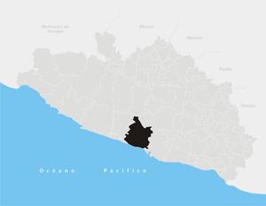 Coyuca de Benítez (municipality) - Image: Coyuca de Benítez