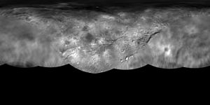 Geology of Charon - Global map of Charon, from New Horizons images