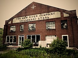 New River Coal Company store in Cranberry West Virginia