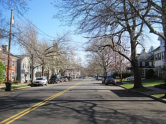 Cranbury, New Jersey - Central business district of Cranbury