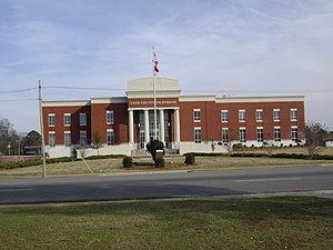 Crisp County Courthouse in Cordele