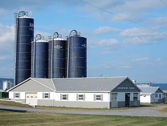 Lykens Township, Dauphin County, Pennsylvania - Crissinger Farms in Lykens Twp.