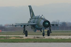 Croatian Air Force Mikoyan-Gurevich MiG-21bisD.jpg