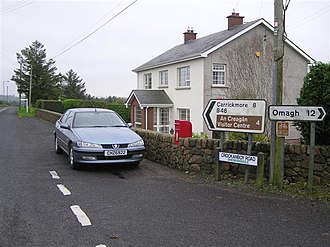 Greencastle, County Tyrone - Crockanboy Road in Greencastle