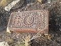 Cross stone 2, graveyard, Aygestan, Armenia.jpg