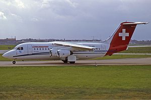 Crossair BAe 146-200 Manteufel.jpg